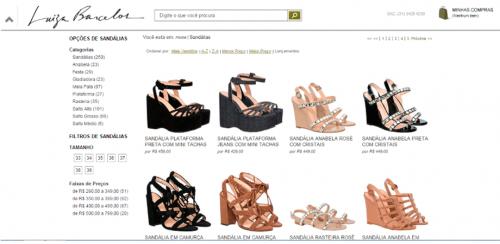 portfolio 24/62  - www.luisabarcelos.com.br   Desenvolvimento de Loja Online e Design Gráfico