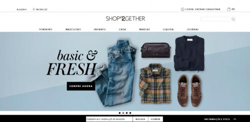 portfolio 14/62  - www.shop2gethe.com.br   Desenvolvimento de Loja Online e Design Gráfico