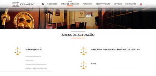 portfolio 12/62  - www.sousagrilo.com   Desenvolvimento de Design Gráfico e WebSite
