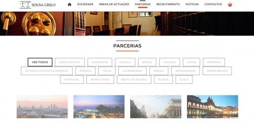 portfolio 11/62  - www.sousagrilo.com   Desenvolvimento de Design Gráfico e WebSite