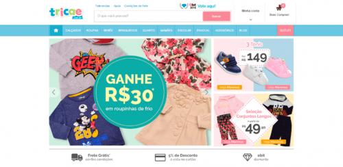 portfolio 7/62  - www.tricae.com.br   Desenvolvimento de Loja Online e Design Gráfico