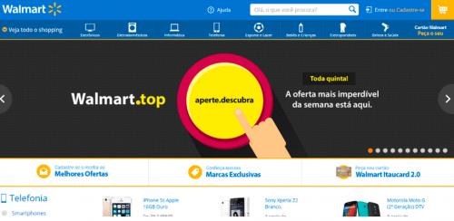 portfolio 6/62  - www.walmart.com.br   Desenvolvimento de Loja Online e Design Gráfico