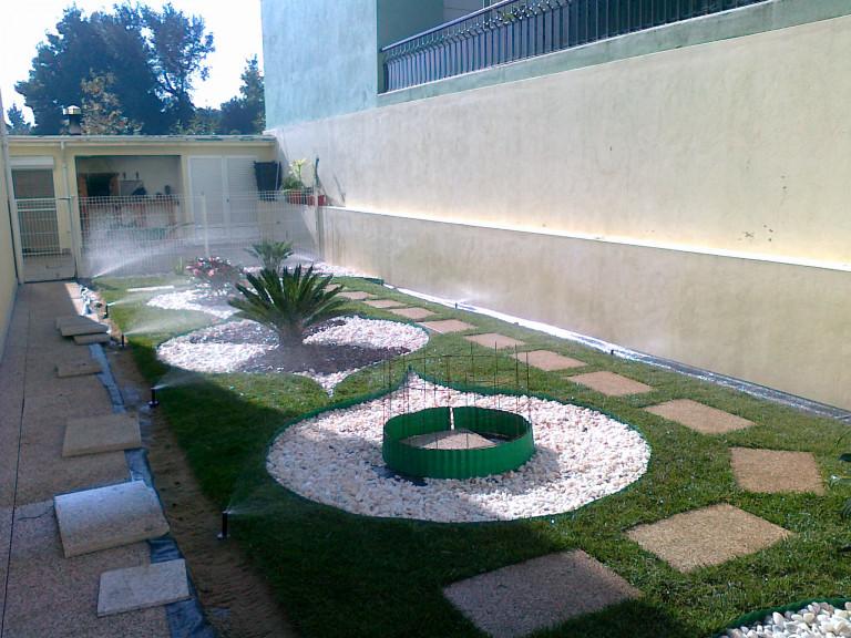 portfolio 1/3  - Construção de jardins