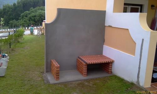 portfolio 61/68  - Construção de Churrasqueira