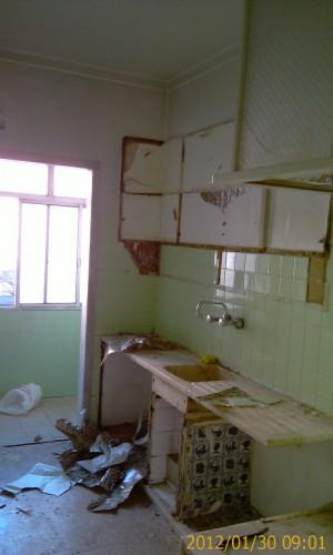 portfolio 57/68  - Remodelação de apartamento - cozinha