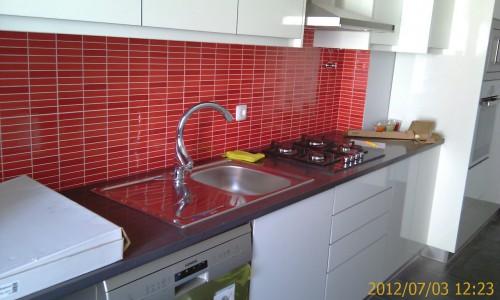 portfolio 55/68  - Remodelação de apartamento - Cozinha