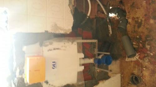 portfolio 51/68  - Remodelação de casa banho - Sanita suspensa