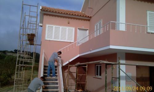 portfolio 45/68  - Reparação e pintura exterior de vivenda
