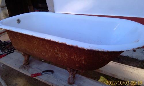 portfolio 31/68  - Remodelação de casa de banho - Recuperação de banheira
