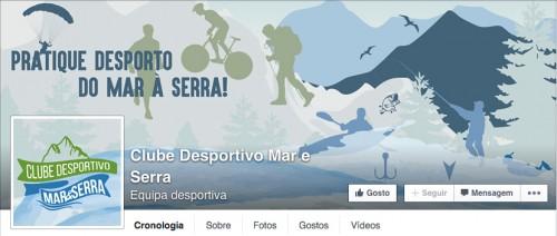 portfolio 30/41  - Capa de Facebook Clube Desportivo