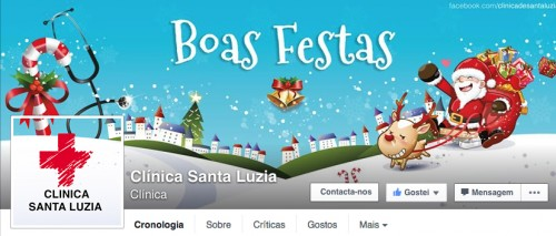 portfolio 29/41  - Capa de Facebook Clinica de Saúde