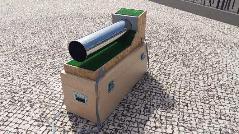 portfolio 1/2  - Pipeline Demo - Maquete - Suporte Modelo Demonstração em Feiras