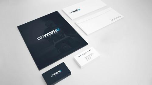portfolio 16/17  - Projetamos o logotipo da sua empresa e respetivo estacionário, criando uma identidade visual simples, atrativa e eficiente.