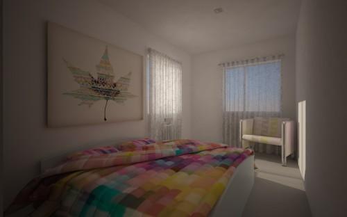 portfolio 26/31  - Imagem 3D de um apartamento em Telheiras