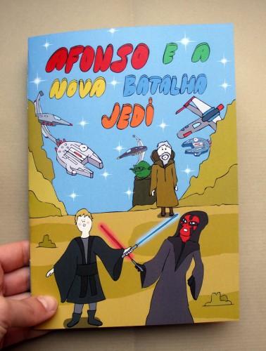 portfolio 2/4  - Livro para criança, inspirado na 'Guerra das Estrelas'