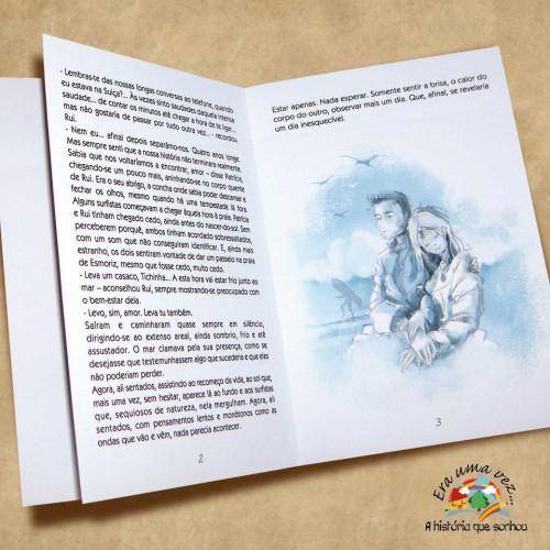 portfolio 1/4  - Uma história de amor que passou a livro
