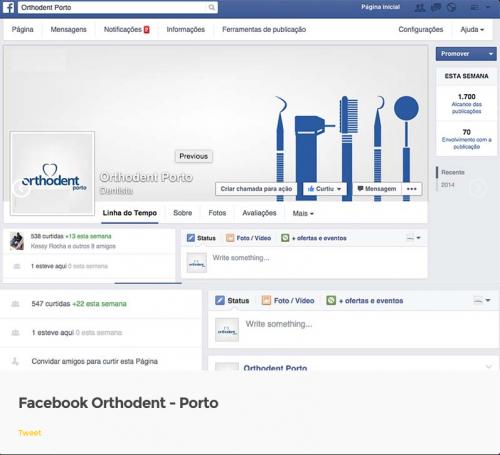 portfolio 11/11  - Social Midia