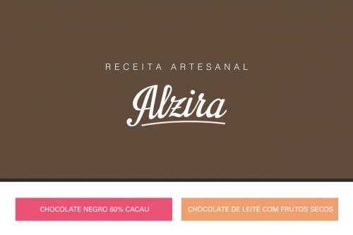 portfolio 21/27  - Branding / Alzira chocolates