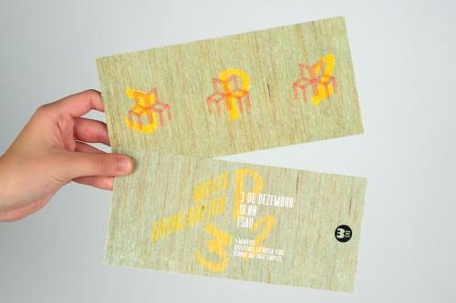 portfolio 11/27  - Flyer / Evento 3P2