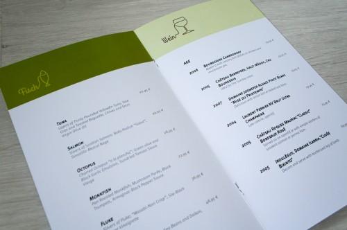 portfolio 7/27  - Menu / Restaurante