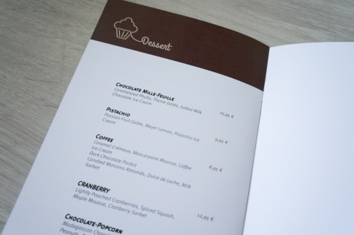 portfolio 6/27  - Menu / Restaurante