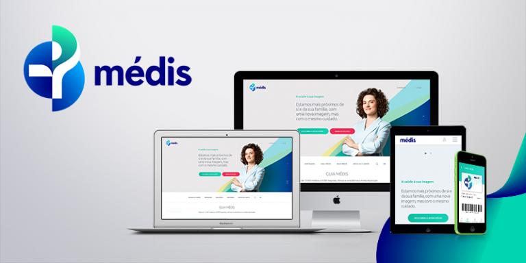 portfolio 1/6  - Copywriting do novo site da Médis. medis.pt