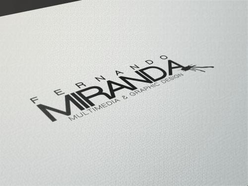 portfolio 14/26  - Logótipo pessoal Fernando Miranda