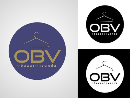 portfolio 26/26  - Logótipo desenvolvido para a loja OBV