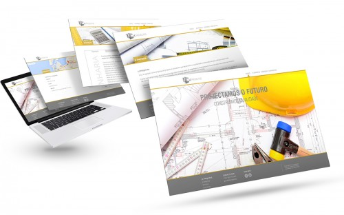 portfolio 8/26  - Website Engenharia LC Projectos