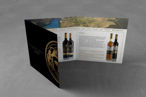 portfolio 3/26  - Brochura Vinhos Exlibris Baco