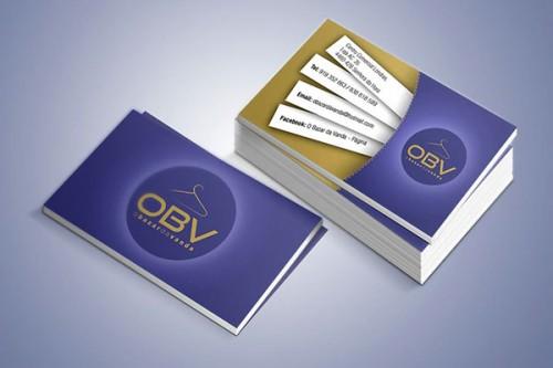 portfolio 23/26  - Cartão de visita OBV