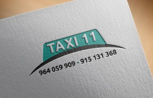 portfolio 7/16  - Taxi 11 Matosinhos - Logo Design