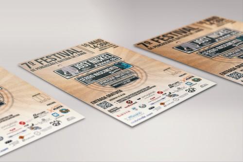 portfolio 6/16  - Festiva de Percussão e Bateria de Lavra - Flyer Design